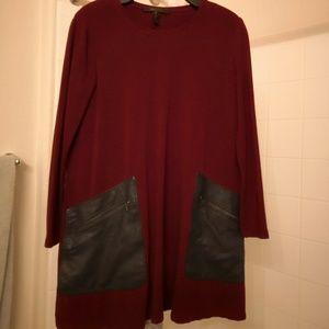 Long sleeve BCBG dress